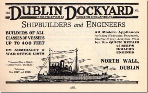 Ad DublinDockyards 1929
