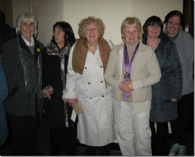 East Wall Ladies in the Church