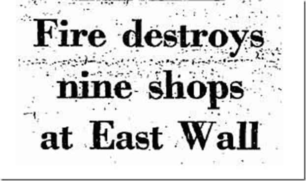 01 fire destroys nine shops 1970
