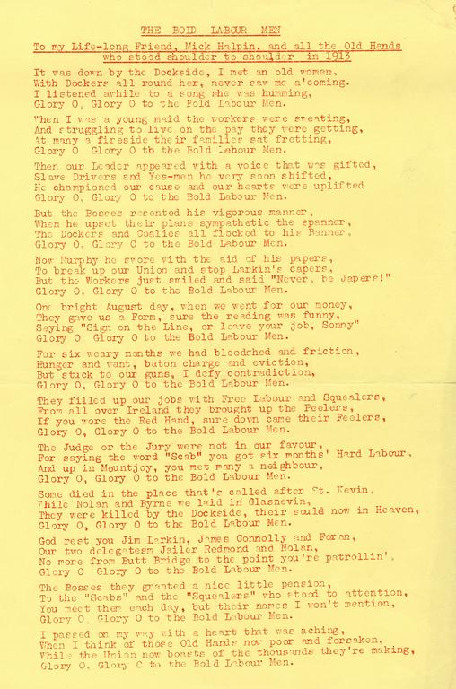 1913 lockout essay writer