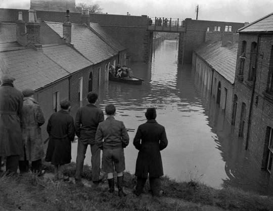 Bessborough Avenue 1954. (Photo courtesy of Dublin City Council)