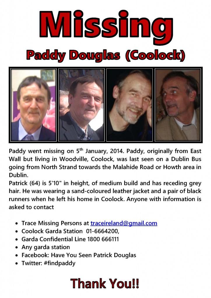 missing paddy douglas