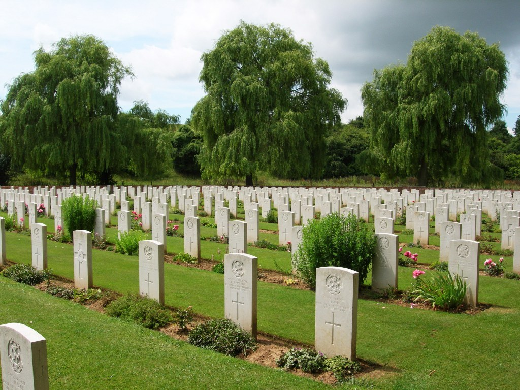 Carnoy Military Cemetery, France