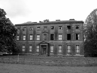 Williamstown house, Co Meath, now abandoned.