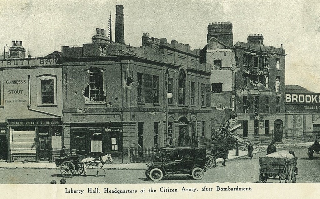 03Liberty Hall after bombardment