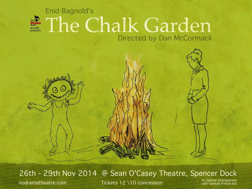 chalk garden poster