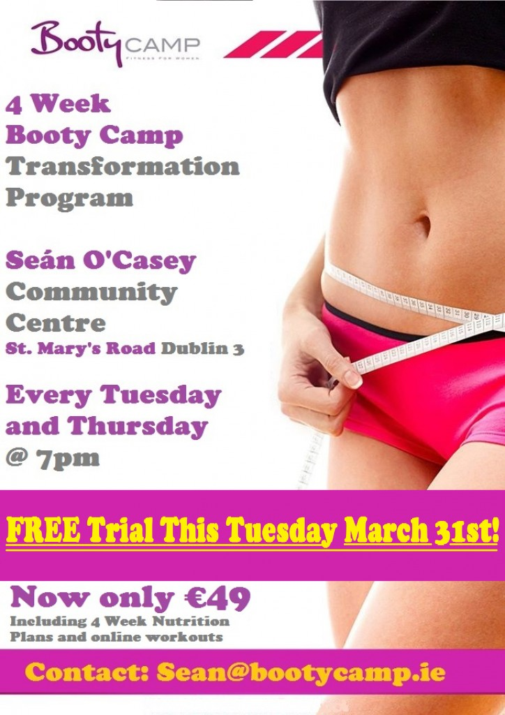 01 Booty Camp Poster D3 Free Trial