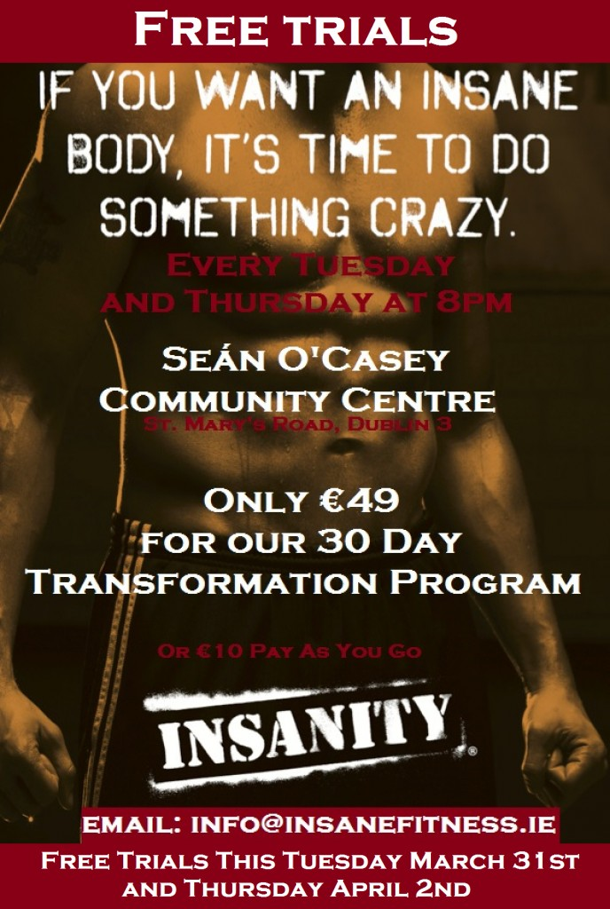 02 Insanity D3 Free Trial