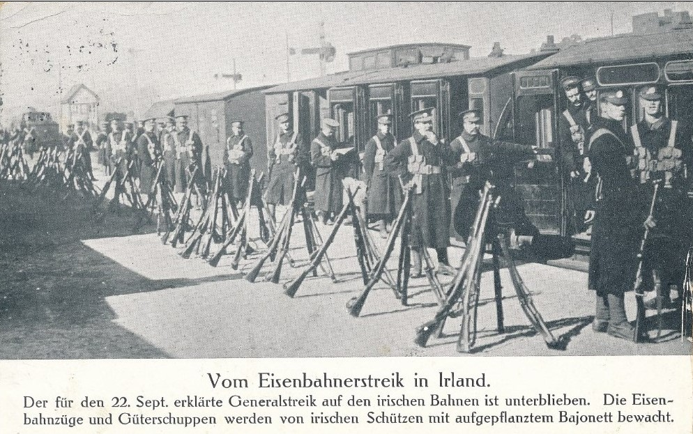 The strikes of 1911 were international news