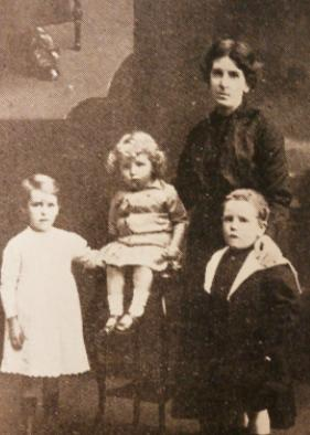 Maggie Corcoran and family