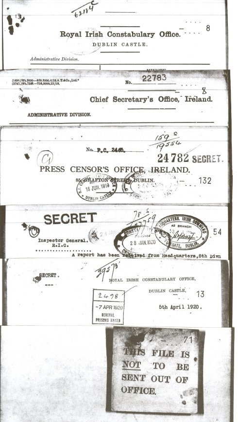 Dublin Castle intelligence documents