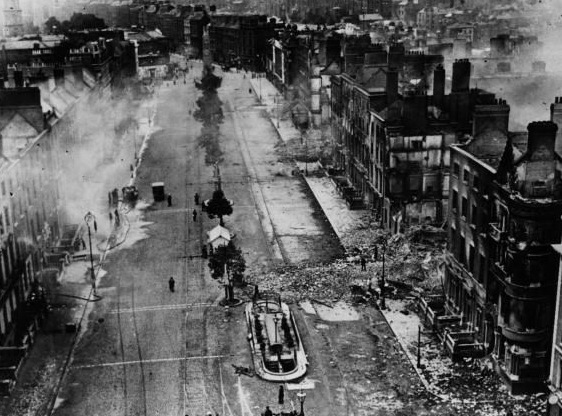 O'Connell Street after the conflict