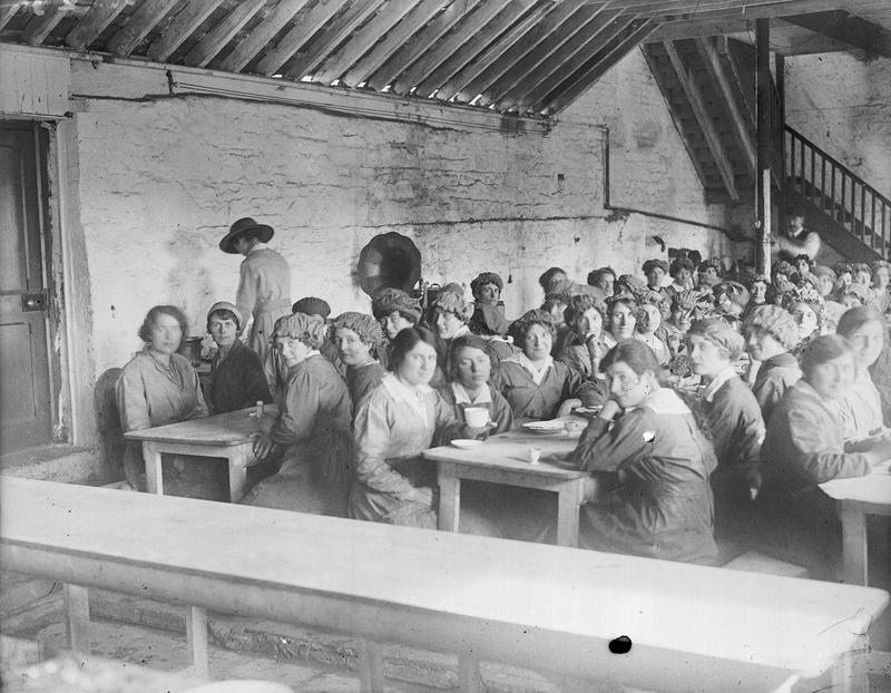 Canteen at National Shell Factory , Parkgate Street