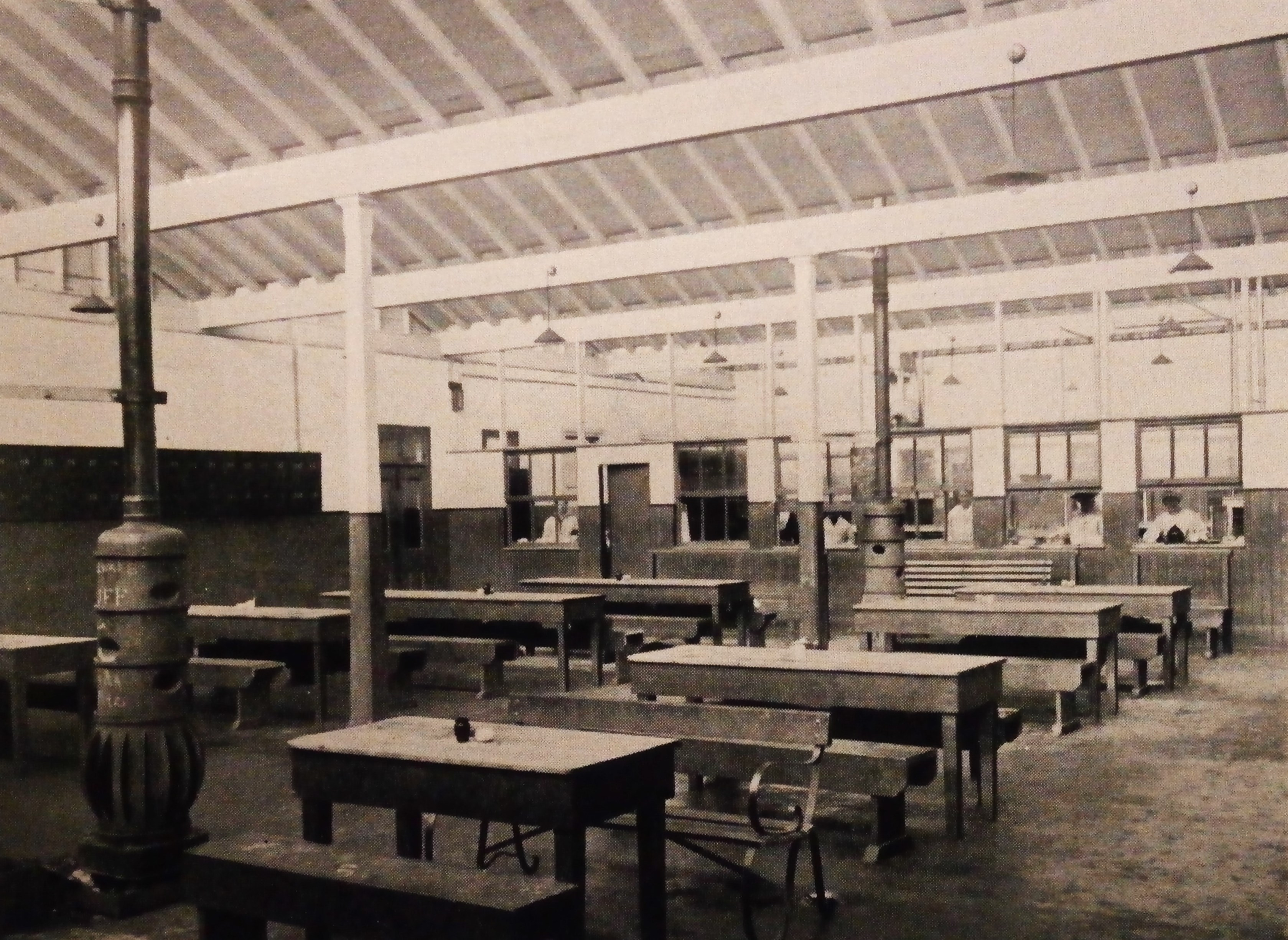 Canteen at Dublin Dockyard War Munitions Company , Dublin Port
