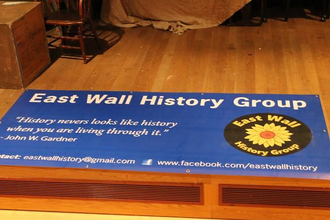 East Wall History Banner
