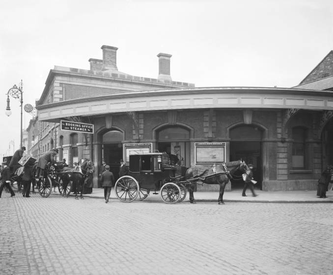 LNWR North Wall station , early 20th Century