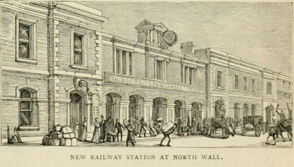The new LNWR Station 1861