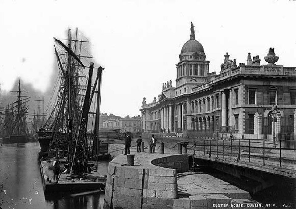 Custom House 1867  (Photo:NLI)