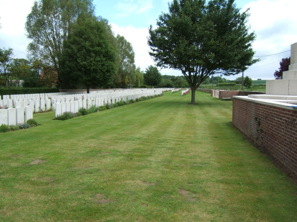 Foncquevilliers Military Cemetery