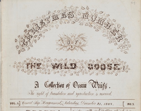 The Wild Goose Christmas edition (Mitchell Library, State Library of New South Wales)