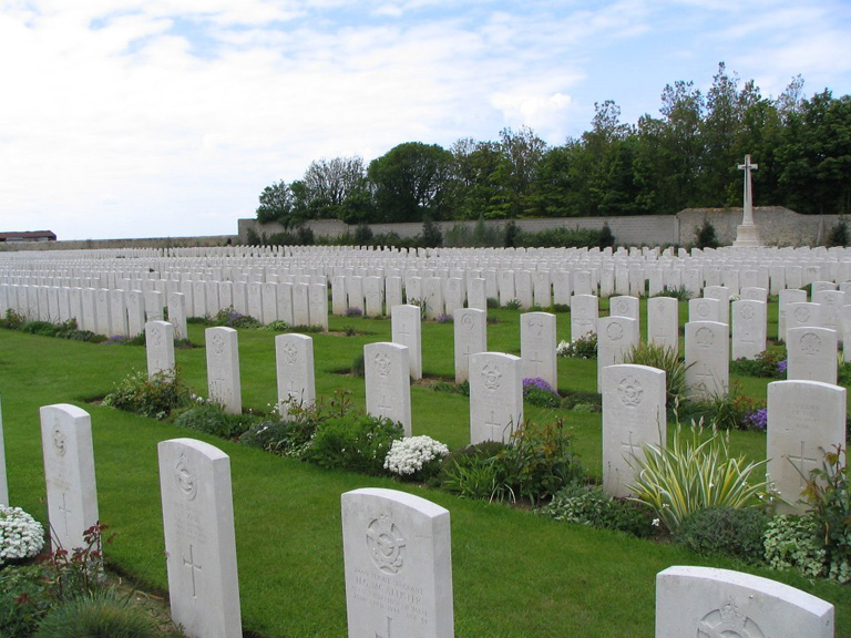 Terlincthum Cemetery, Wimille, France