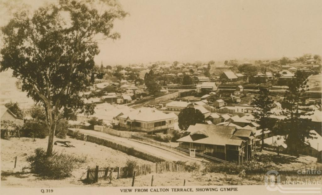 The town of Gympie