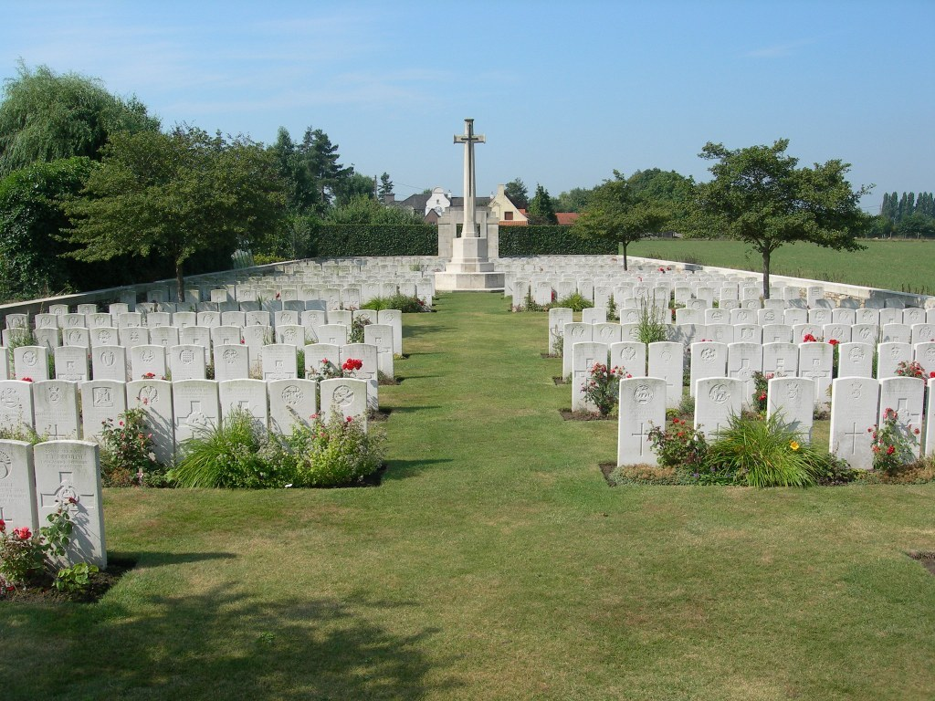 Brandhoek New Military Cemetery