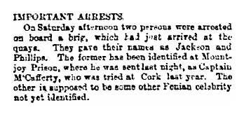 Important arrests