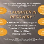 Laughter in Recovery Poster