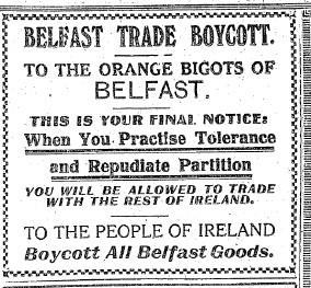 Belfast Boycott