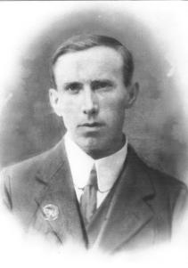 Volunteer Patrick Mulvihill
