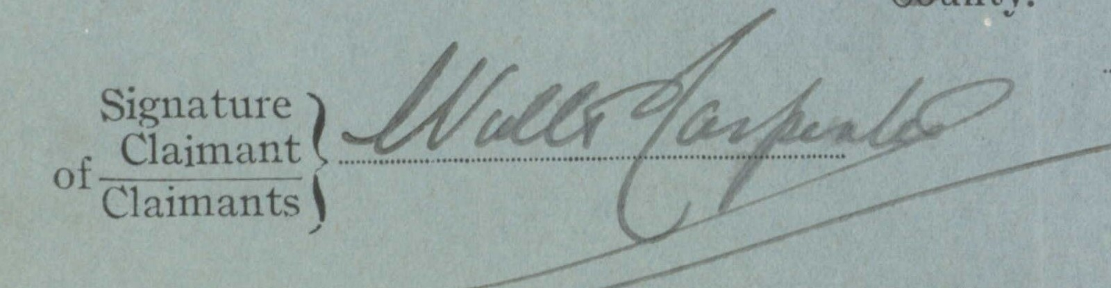 Walter Carpentersignature (2)