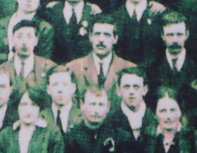 Tom Leahy at Liberty Hall 1917