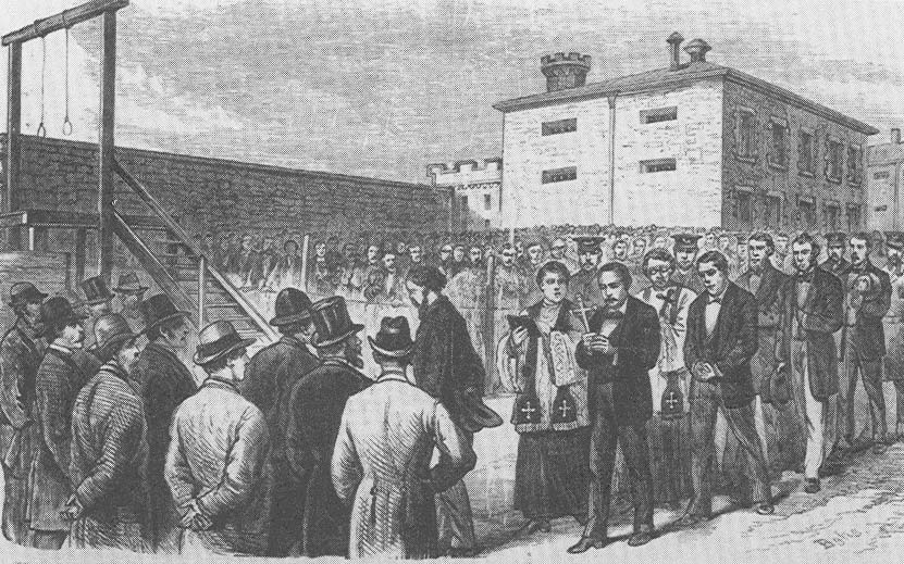 Execution of John Kehoe