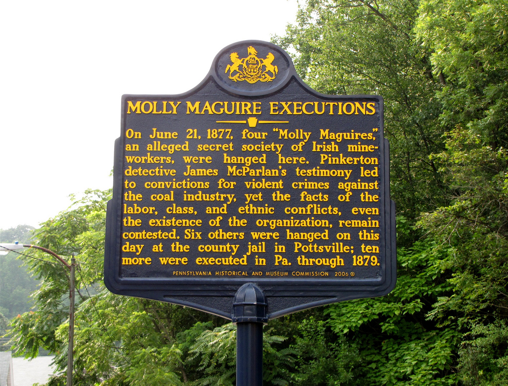 Remembering the Mollies in Pennsylvania