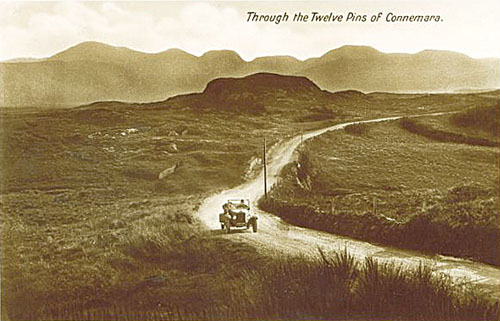An almost treeless landscape in Connemara , early 20th Century.