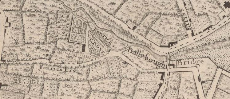 John Rocque's map of Dublin.