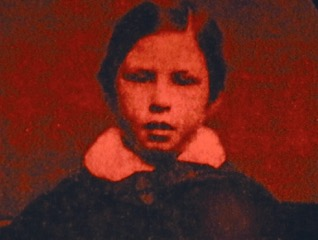 The 7 year old Bram Stoker.