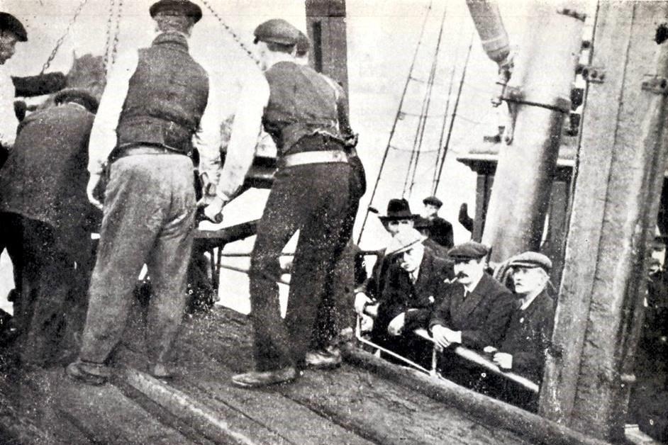 Discharging of cargo