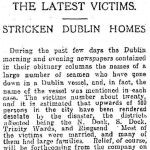 Stricken Dublin homes