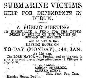 Submarine fund public meeting