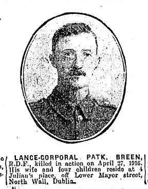 Patrick Breen death notice
