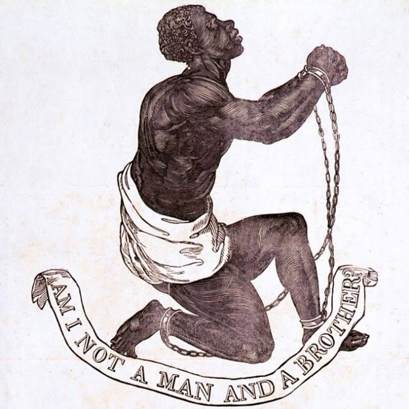 Anti slavery image form 18th century