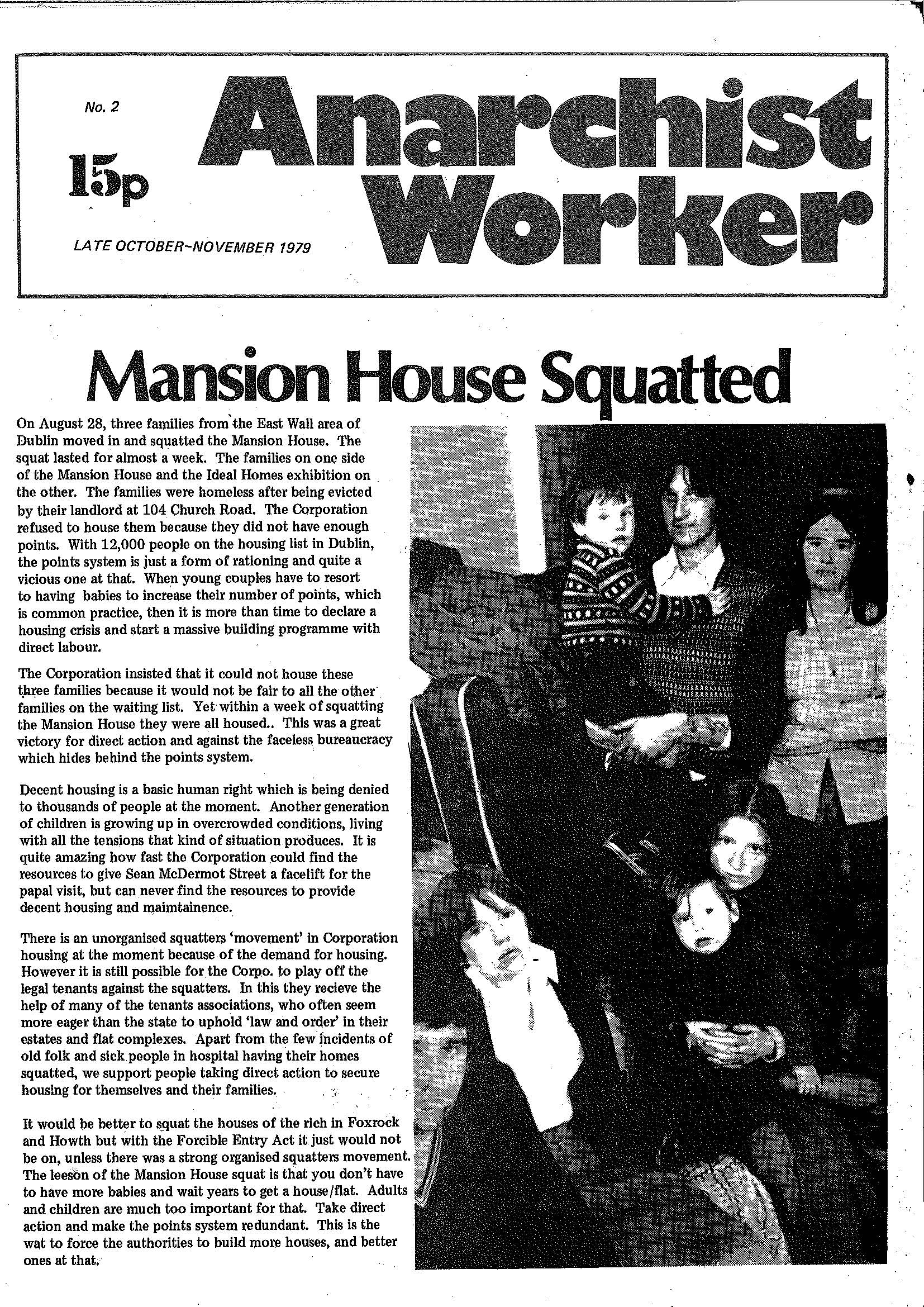 ANARCHIST WORKER COVER