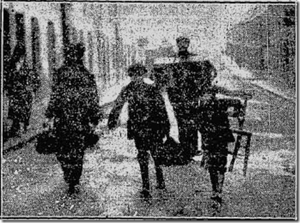 East Wall eviction scene 1913 (Image: East Wall History Group)