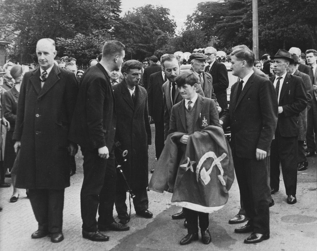Bill Gannons funeral 1965