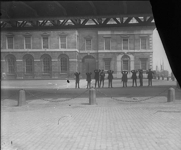 Bill Gannon avoided capture at the attack on the Custom House 1922