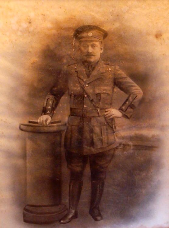 Phil Shanahan in uniform (Image source:   Tom Shanahan)