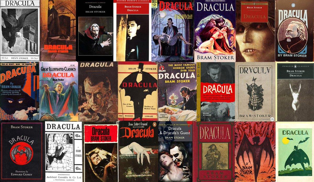 DRACULA covers