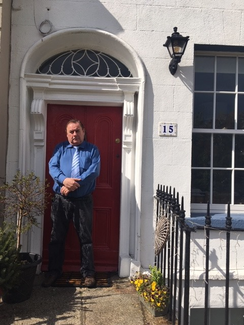 Dennis McIntyre , at number 15 The Crescent ,  home of Bram Stoker
